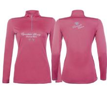 HKM DIAMOND FUCTION SHIRT / BASE LAYER -PINK -  RRP £49.99 (1)